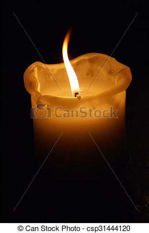 Melting Candle clipart lighted Candle Stock Search candle
