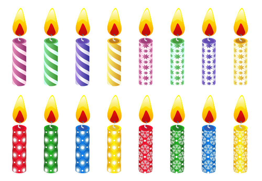 Melting Candle clipart lighted All PNG Birthday Images PNG