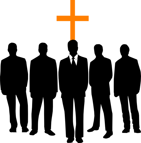 Religion clipart church person #4