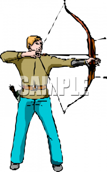 Shooter clipart man hunting And a clipart Picture arrow