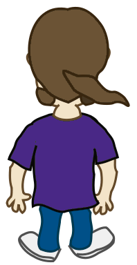 People clipart back Clipart pages Men to images