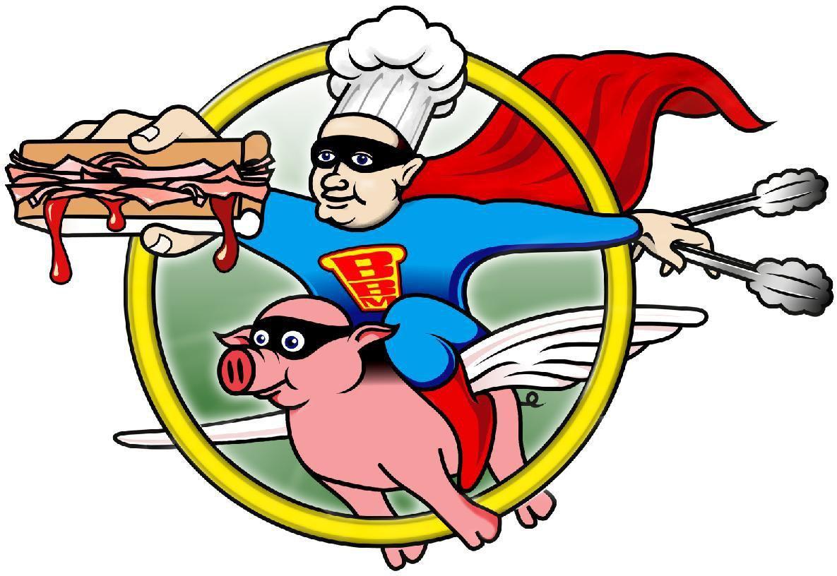 Bacon clipart person Bacon baconbuttiestation Buttie Man
