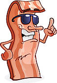 Bacon clipart animated Fast Art GoGraph Character Royalty