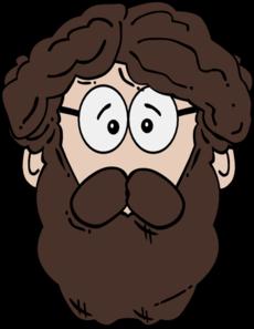 Men clipart beard Art With Art Clker Beard