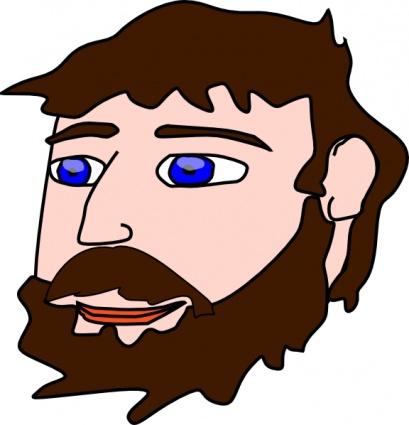 Men clipart beard Clipartix beard Men clipart Men