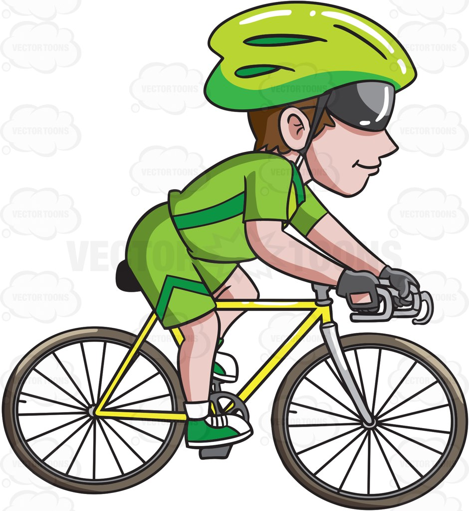 Tricycle clipart animated A riding bike #cartoon #stockimage