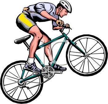 Bike clipart his Images Clipart Cyclist Panda Free