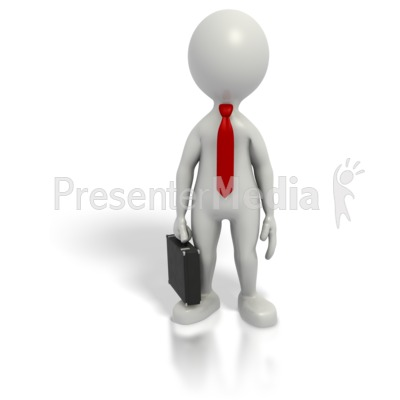 Business clipart powerpoint  Figure Business Grey Stick