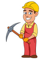 Men clipart builder Click Pictures Art Clip Graphics