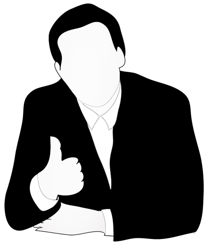 Business clipart new business Silhouettes thumb silhouette man clipart