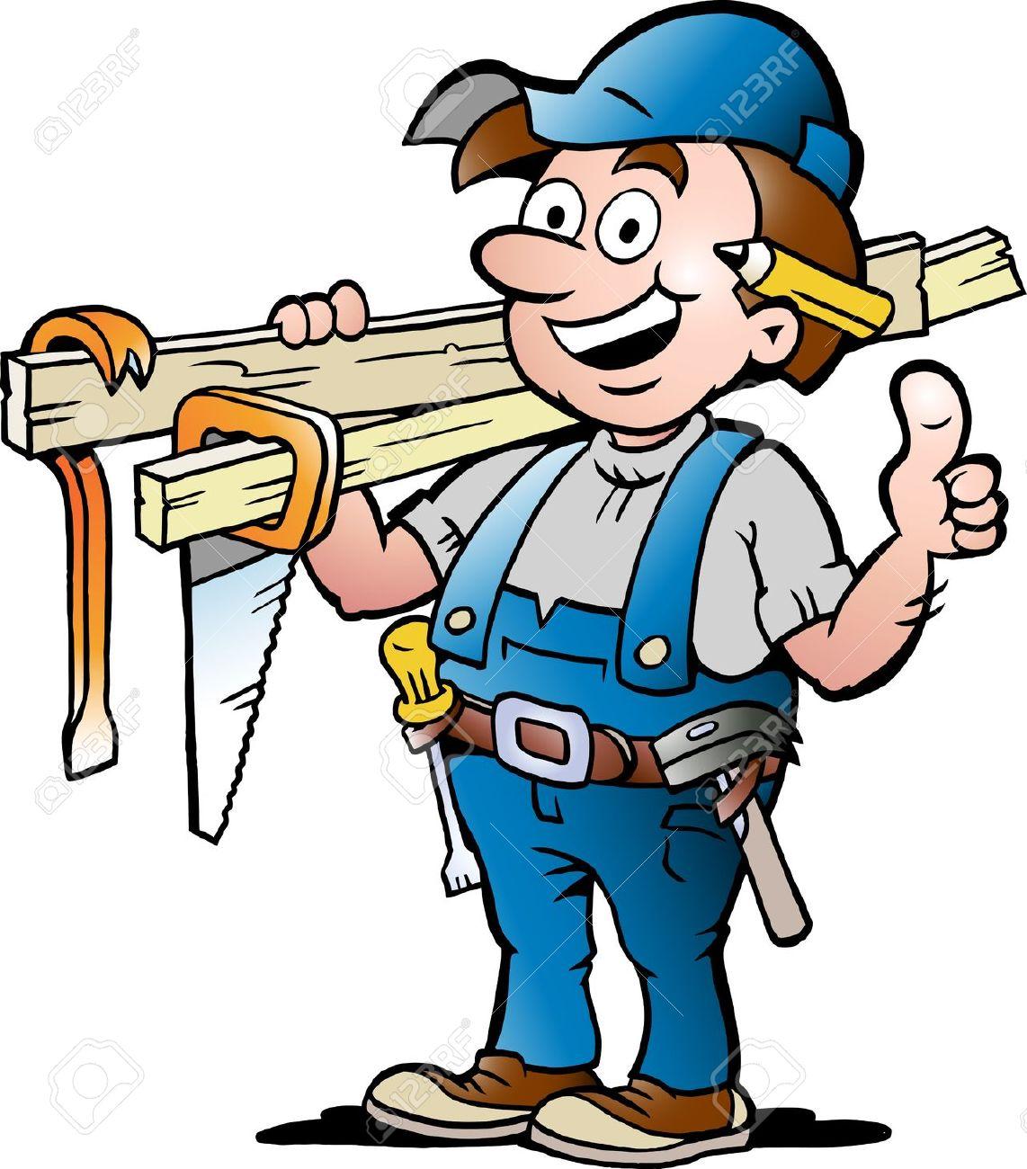 Woman clipart carpenter Carpenter  Clipart