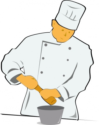 Baking clipart chef Cooking Man Cooking – 101