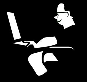 Men clipart computer Com Computer Man Clker Man