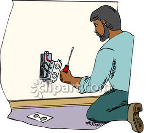 Electrical clipart electrician Outlet Clipart an Royalty Picture