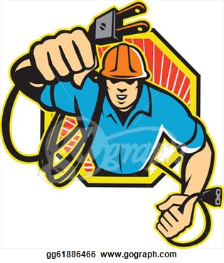 Electrical clipart electrician Engineer Panda Images Clipart Clipart