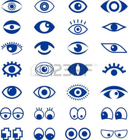 Blue Eyes clipart simple Collection eye clipart Eyes Stock