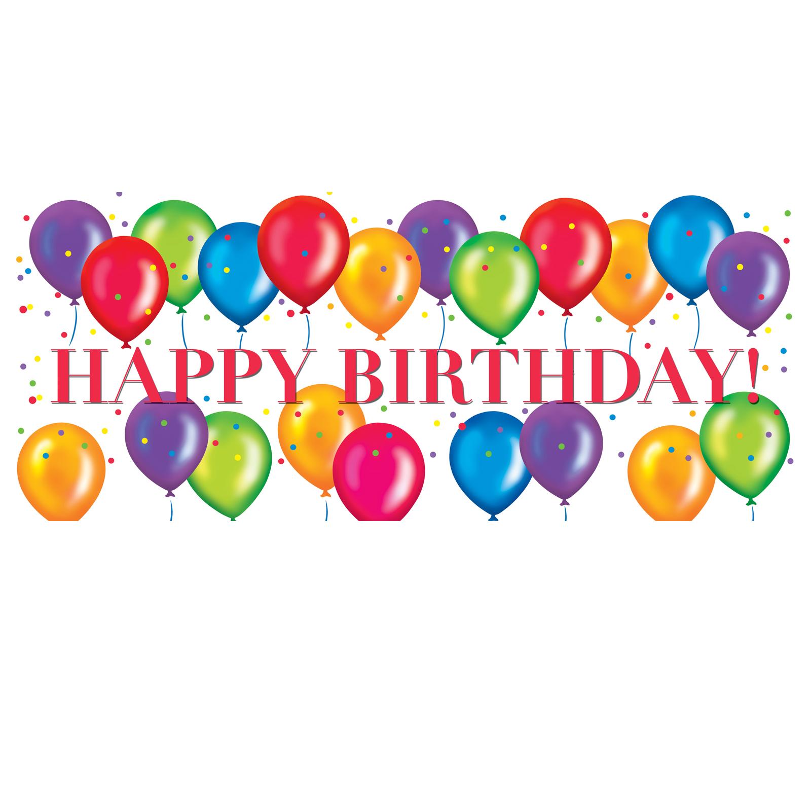 Balloon clipart happy birthday Men For Art Clipart Panda