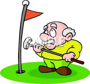 Moving clipart golf #6