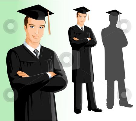 Graduation clipart person Stock Man Man Graduation Graduation