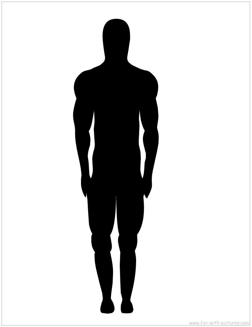 Shaow clipart man back Clip Free Clipart Images Free