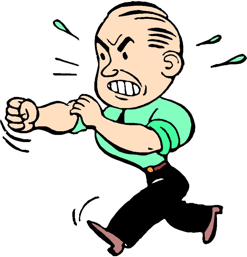 Anger clipart angry manager Clip Irritated Person Cartoon Person