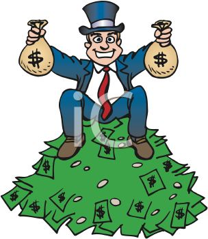 Cash clipart rich person #2