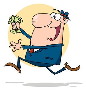 Cash clipart hand holding Man Man Man Holding Clip