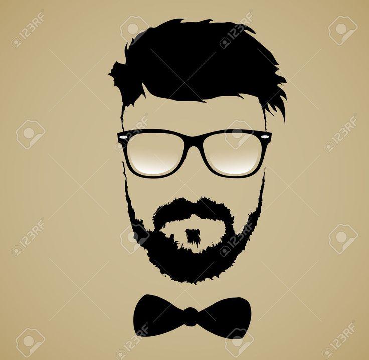 Beard clipart bearded man Glasses Beard Cliparts Hairstyle on