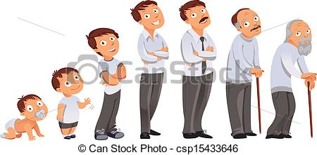 Men clipart old age All childhood illustration All maturity