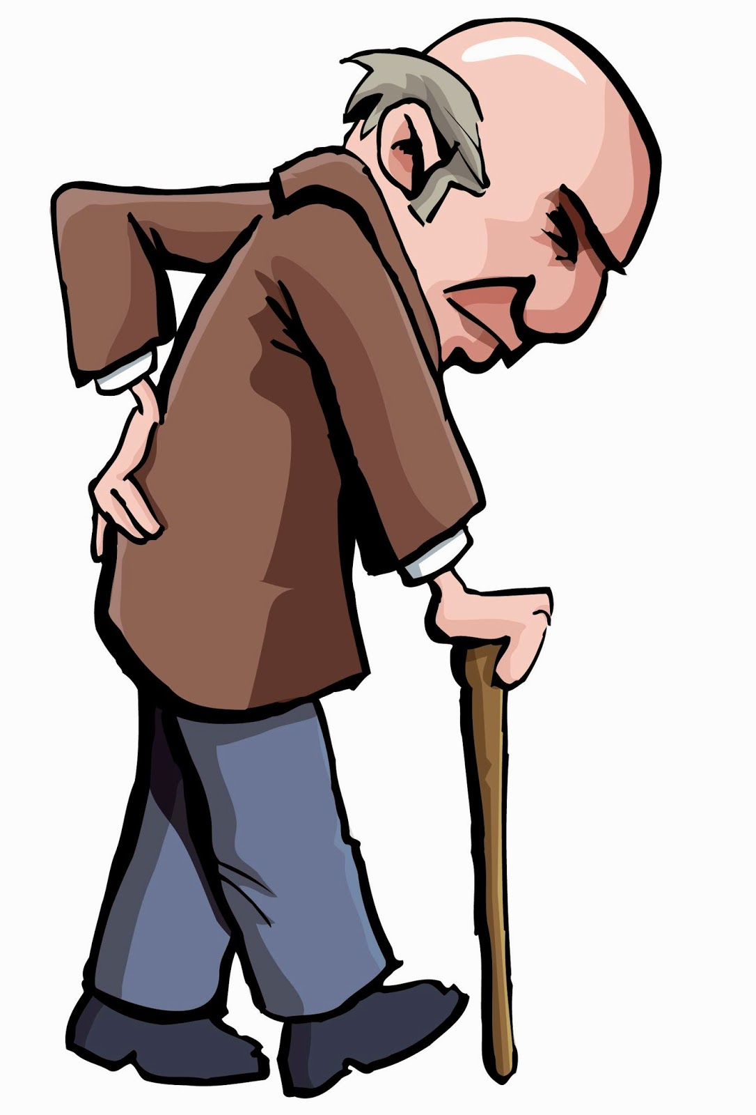 Men clipart old age Labour machinist for old age
