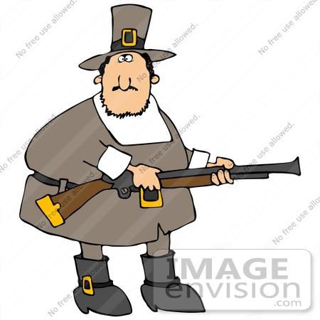 Rifle clipart pilgrim Clipart Free Running Clipart Art