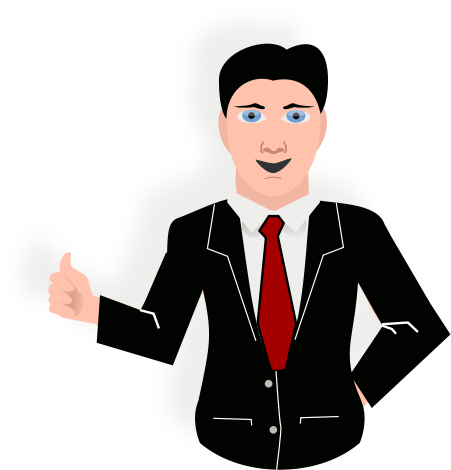 Tie clipart coat tie Man Download Clipart With Tie