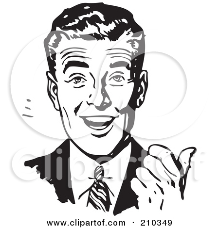 Men clipart retro Download clipart Download Retro drawings