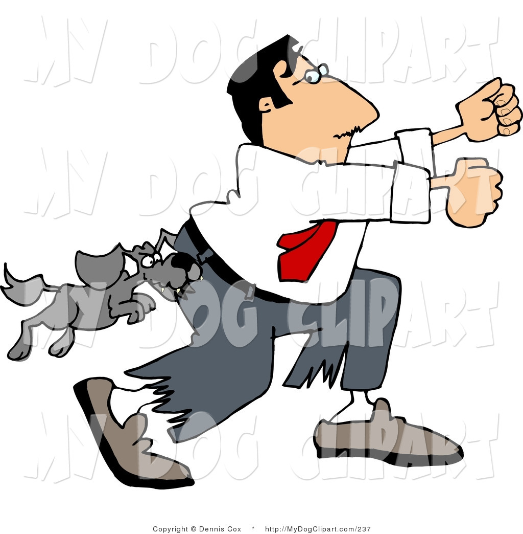 Bark clipart vicious dog Images Free Away Running Clipart