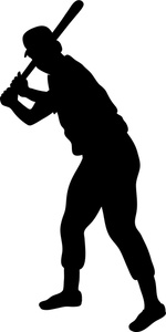 Men clipart softball Free stance%20clipart Clipart Images Player