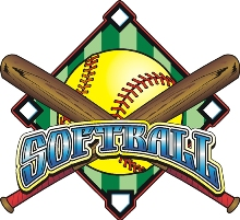 Men clipart softball Adult Softball San Art Dimas