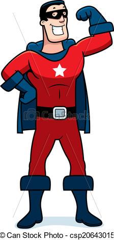 Men clipart superhero Man Vector  A Cartoon
