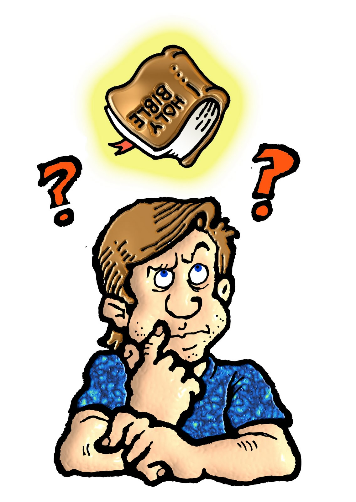 Think clipart Thinker Clipart #13