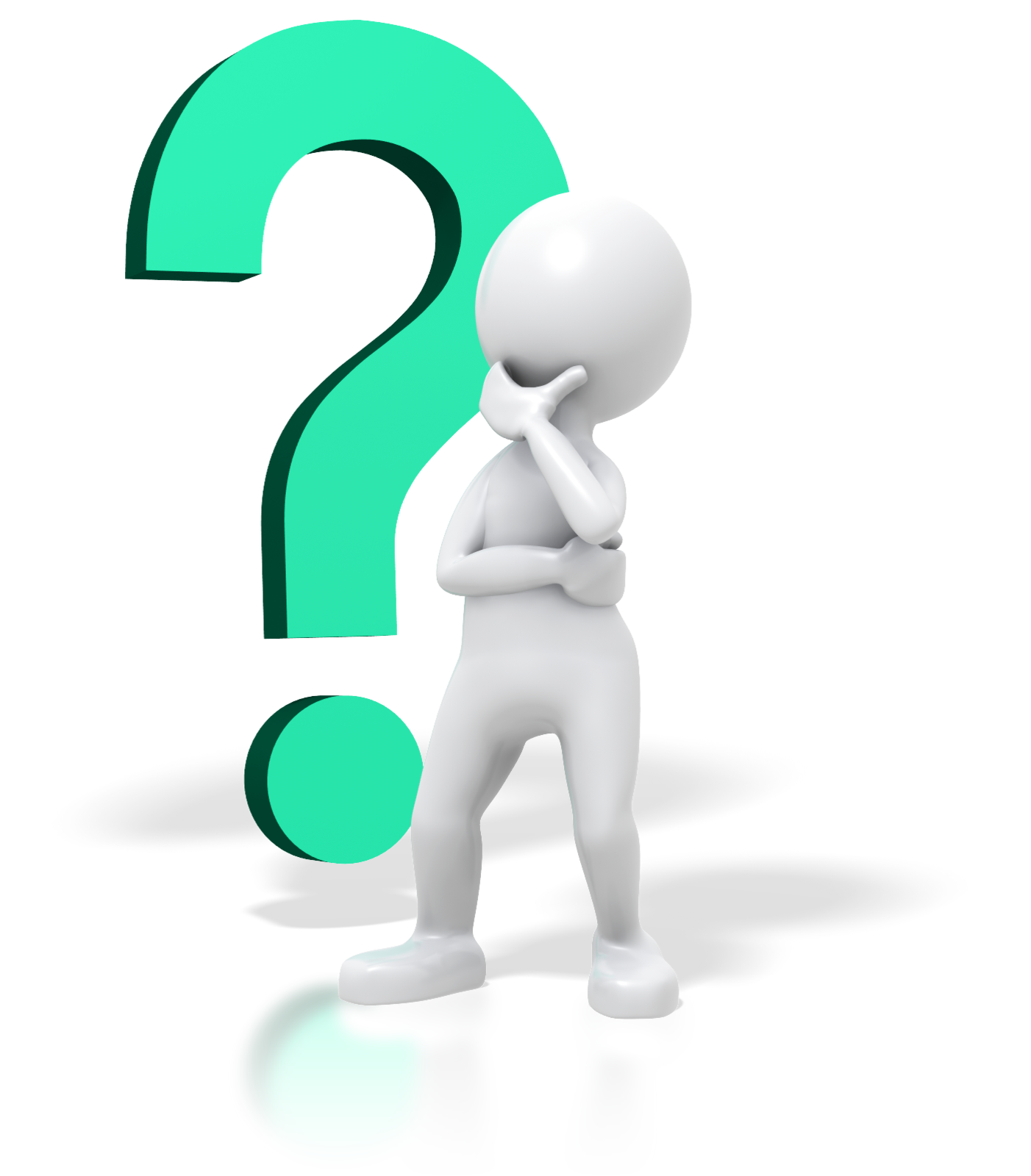 Question Mark clipart person Clipart Panda stick%20man%20thinking Thinking Free
