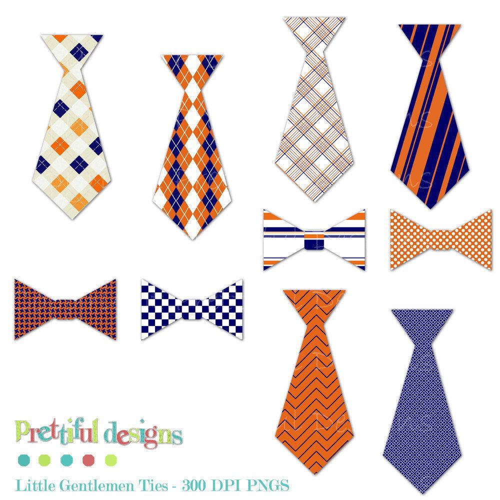 Orange clipart necktie Bow Men bow art tie