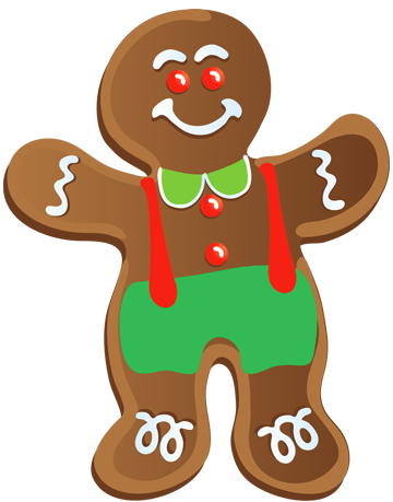 Men clipart transparent Image for Man Gingerbread Clipart