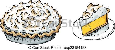 Meringue clipart Clipart meringue cartoon clip Pie