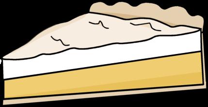 Meringue clipart Art Pie Lemon Meringue Clip