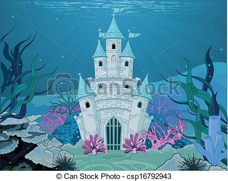 Mermaid clipart castle EPS Mermaid Mermaid Tale Mermaid