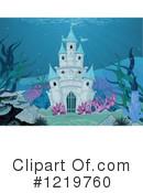Mermaid clipart castle Castle by #1219760 Illustration Royalty