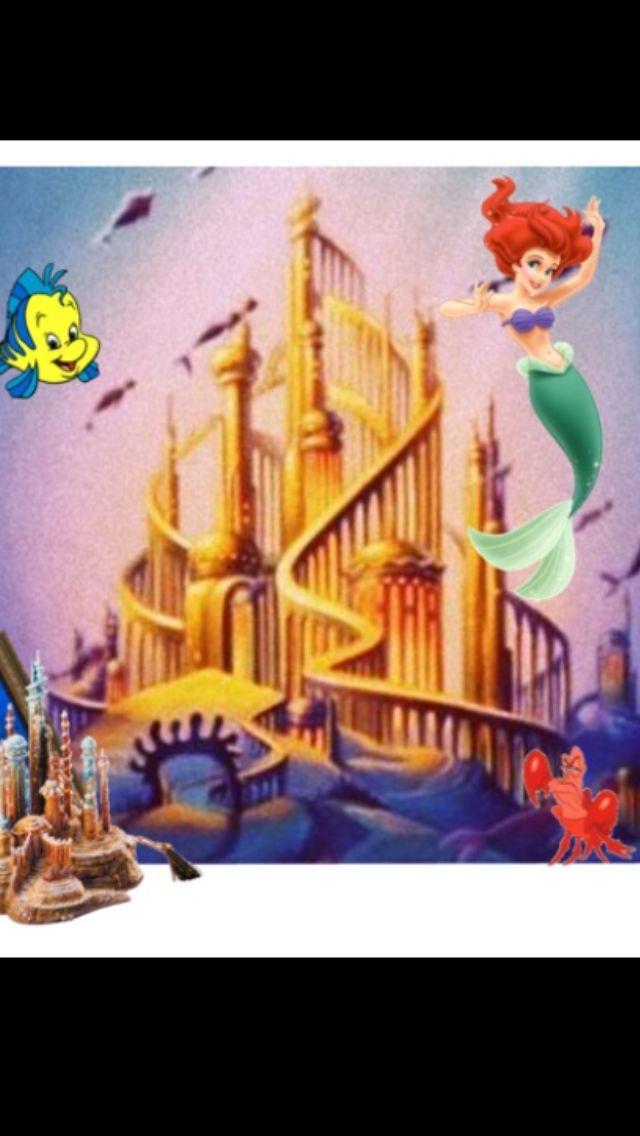 Mermaid clipart castle 53 Little Pinterest Little castle