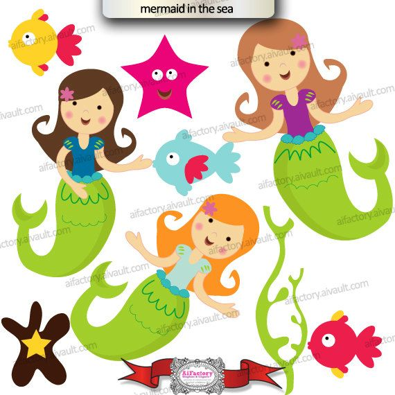 Weed clipart under sea The Under Mermaid ocean about