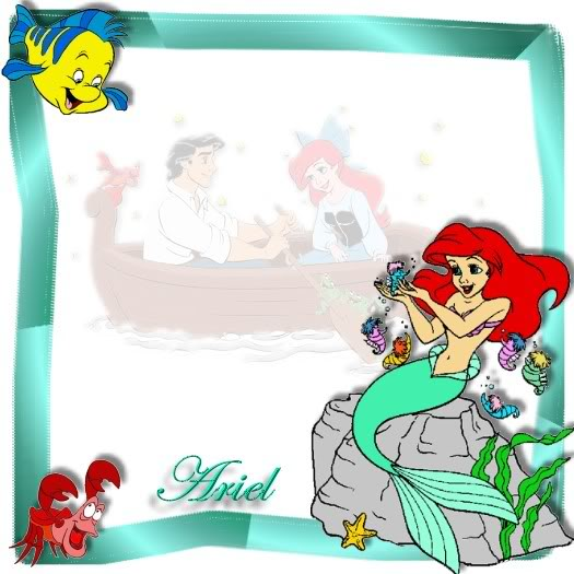 Mermaid clipart frame Little The The 7 8/7/10
