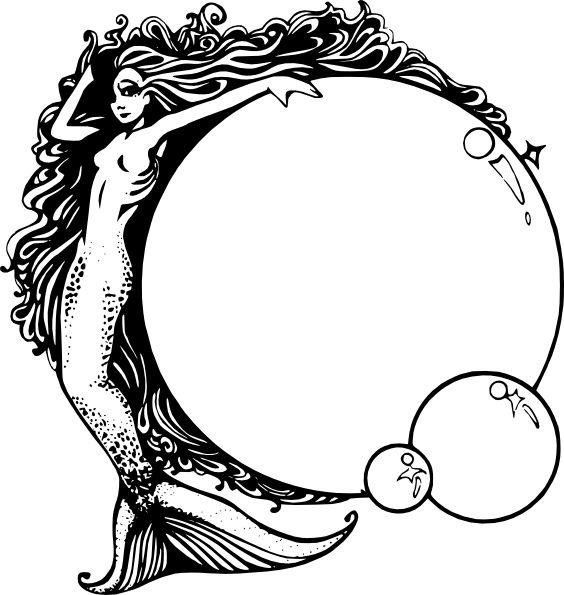 Mermaid clipart lovely Clipart Free Clipart Panda on