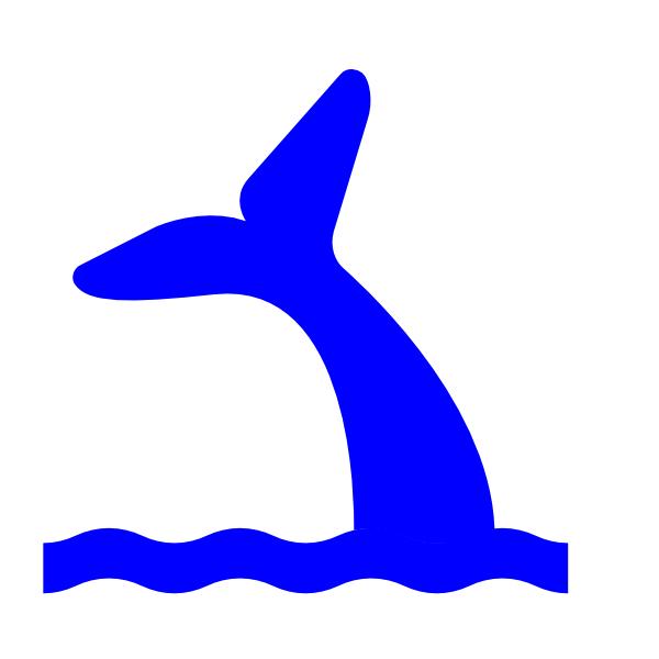 Blue Whale clipart diver Panda Free Clipart Tail Mermaid